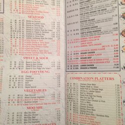 China king goldsboro nc menu