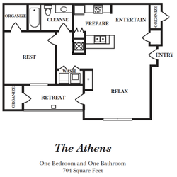 photo of century parkside apartments charlotte nc united states - One Bedroom Apartments Charlotte Nc