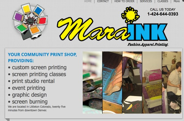 Mara Ink Printing Services 507 Taos St Georgetown Co Phone