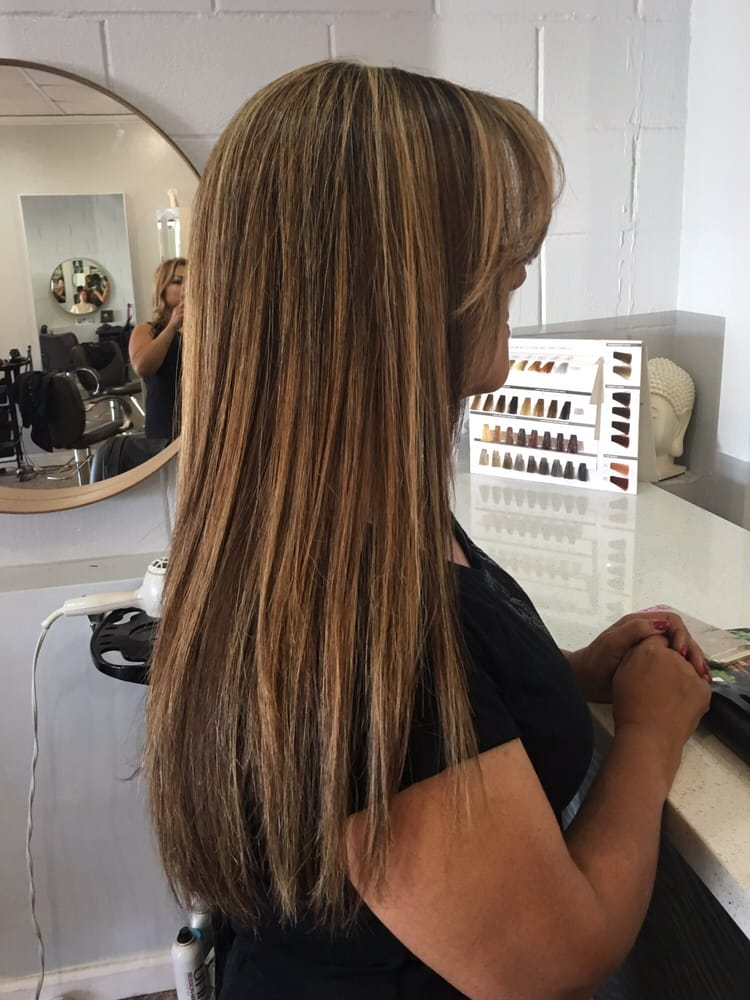 Hair salon near me color correction