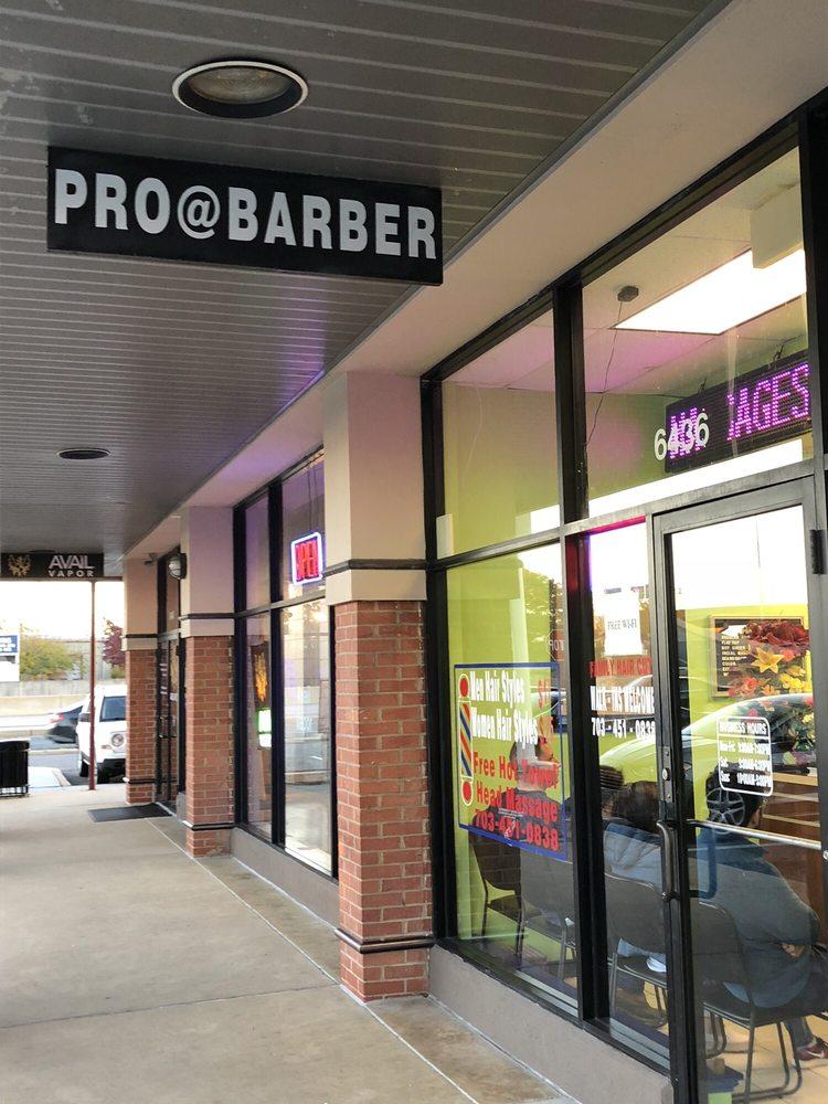 Pro At Barber: 6436 Brandon Ave, Springfield, VA