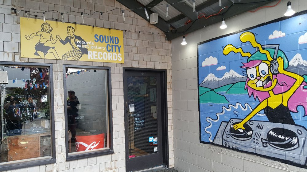 Sound City Records: 130 Winslow Way E, Bainbridge Island, WA