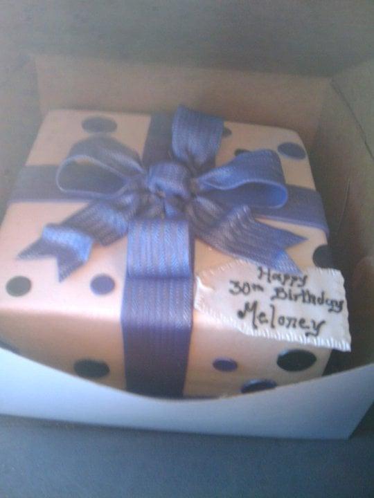 Meloney Birthday Cake