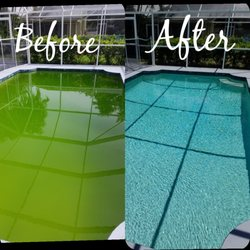Photo Of Mellow Water Pool Service Bradenton Fl United States Before And