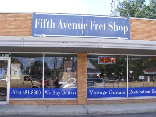 fifth ave fret shop musical instruments teachers grandview heights columbus oh. Black Bedroom Furniture Sets. Home Design Ideas