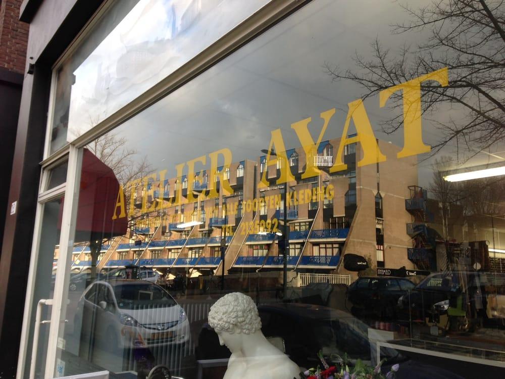 atelier ayat - couture & retouches - delftsevaart 25a, rotterdam
