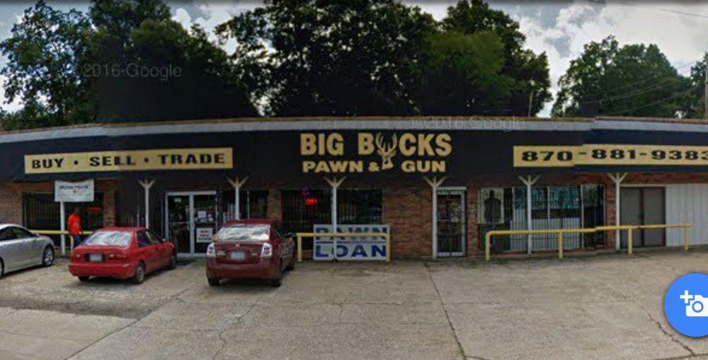 Big Bucks Pawn & Gun: 727 W Hillsboro St, El Dorado, AR