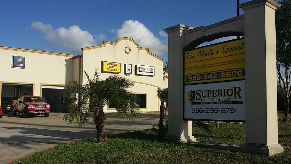 Superior Collision: 3800 Paredes Line Rd, Brownsville, TX