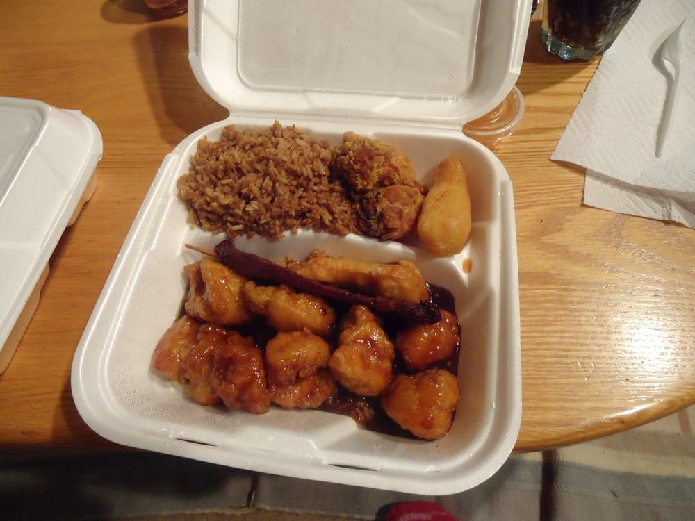 D2 Fried Rice Chicken Fingers General Tsao Terryaki