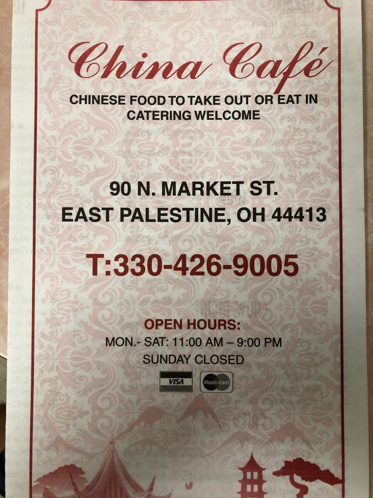 China Garden Chinese: 90 N Market St, East Palestine, OH