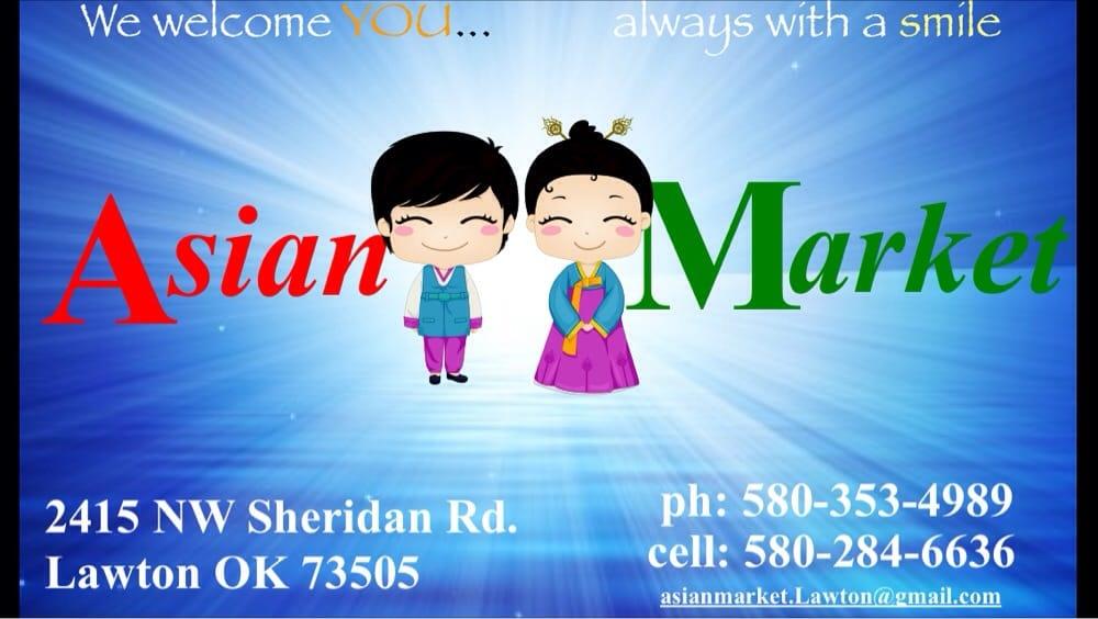 Asian Market: 2415 NW Sheridan Rd, Lawton, OK