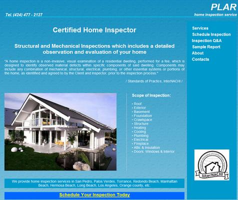 Plar Home Inspection Services Home Inspectors San