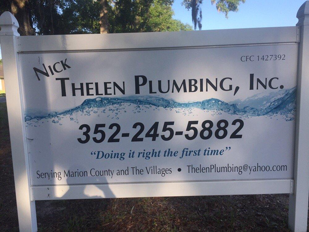 Thelen Plumbing: Belleview, FL
