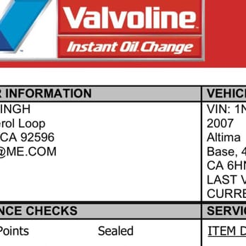 Valvoline Coupon 2017 >> Valvoline Oil Change Coupon Yelp Muscle Pharm Online Coupons