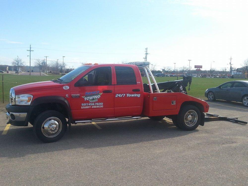 Aaron's Automotive Towing & Repair: 604 N Cedar Ave, Owatonna, MN