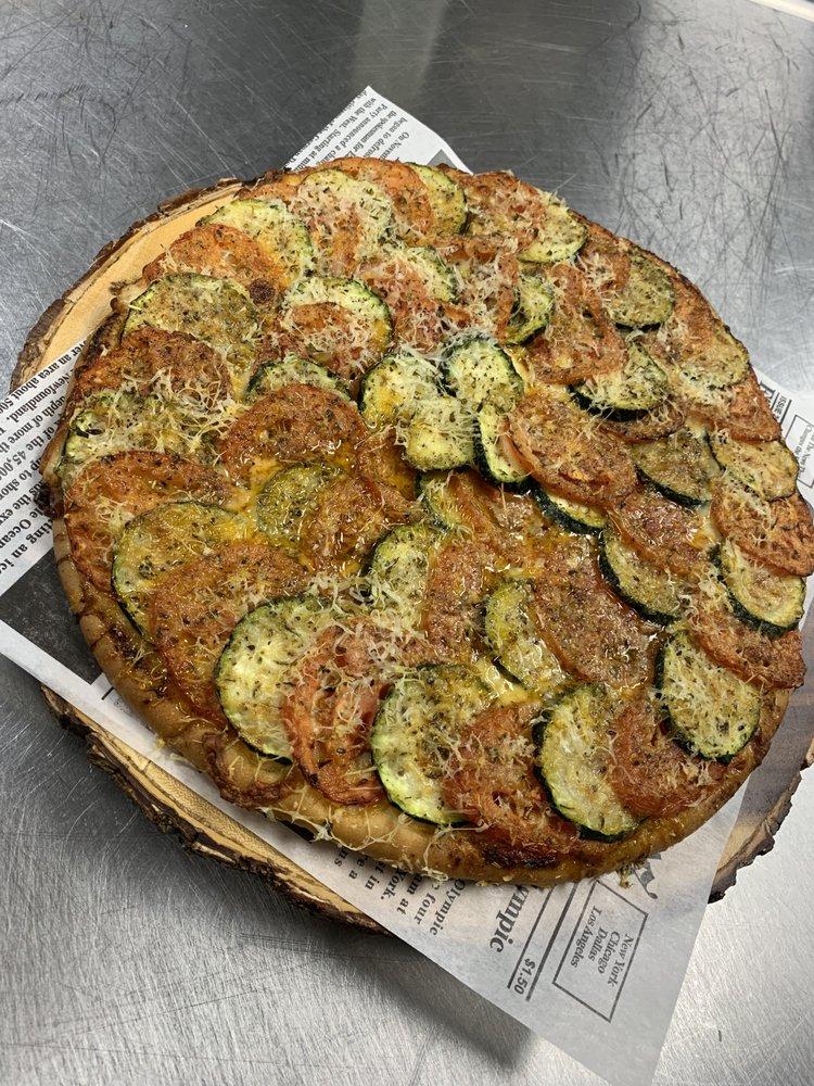 The Vegetarian Pizza - Yelp