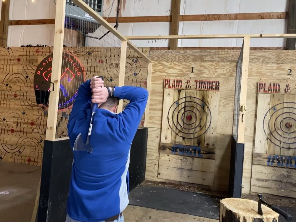 Plaid & Timber Axe Throwing Company: 2710 Eastside Park Rd, Evansville, IN