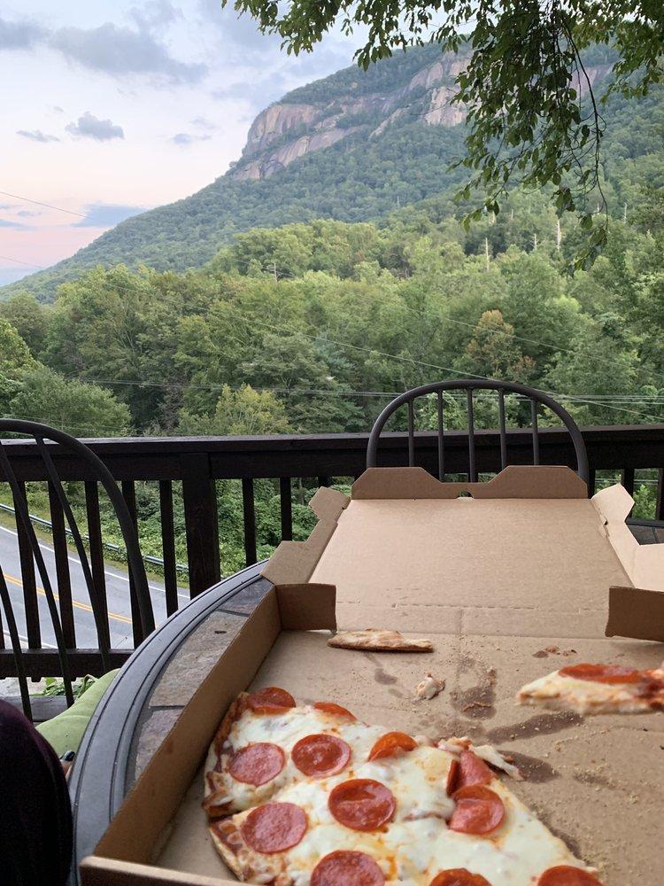 Bayou Billy Popcorn and Pizza: 401 Main St, Chimney Rock, NC