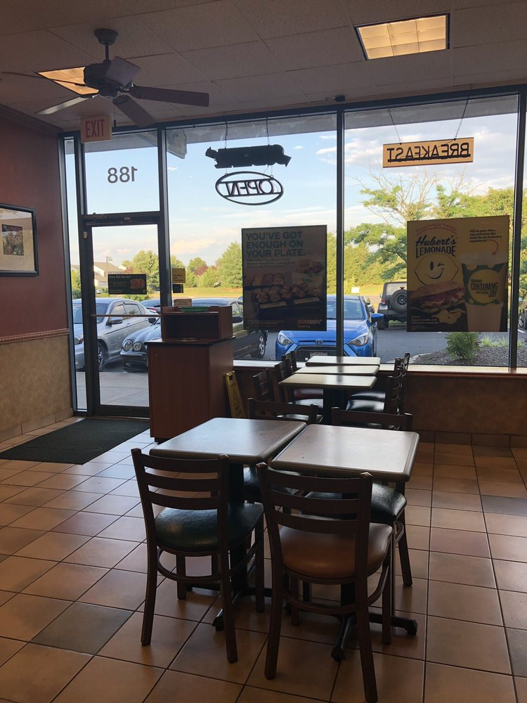 Subway Restaurants: 44110 Ashburn Village Blvd, Ashburn, VA