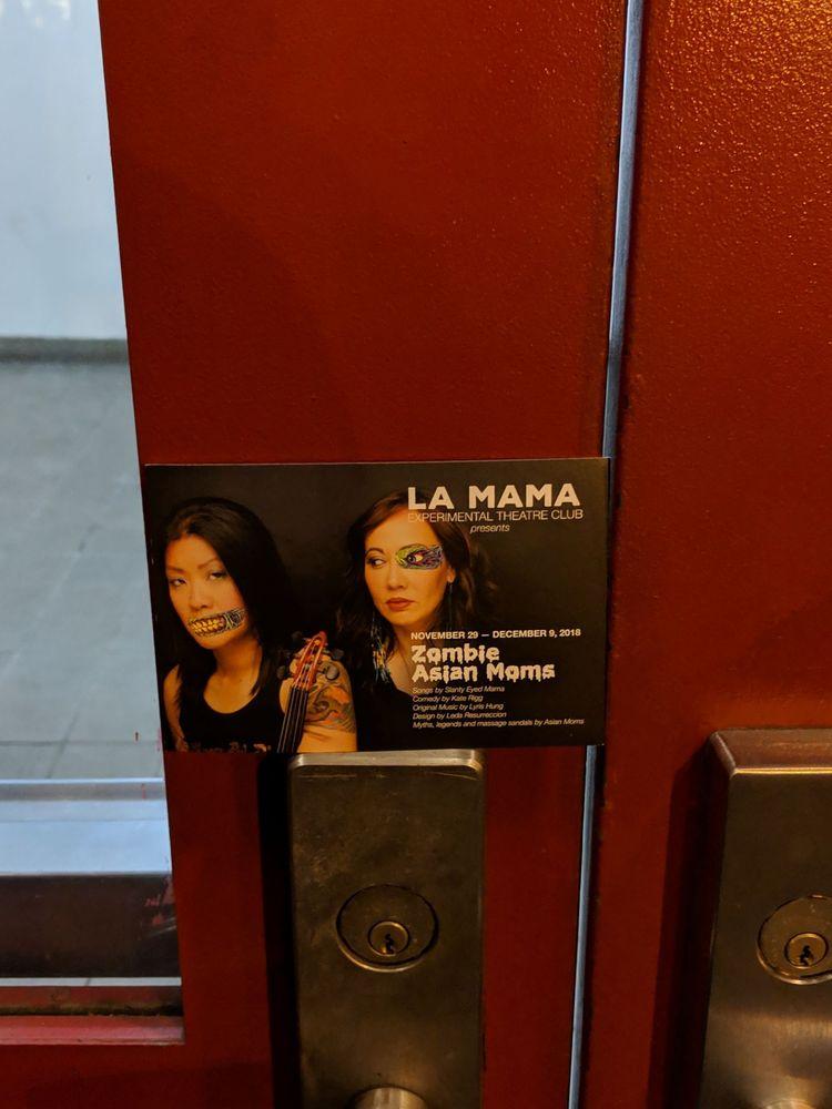 La MaMa: 74A E 4th St, New York, NY