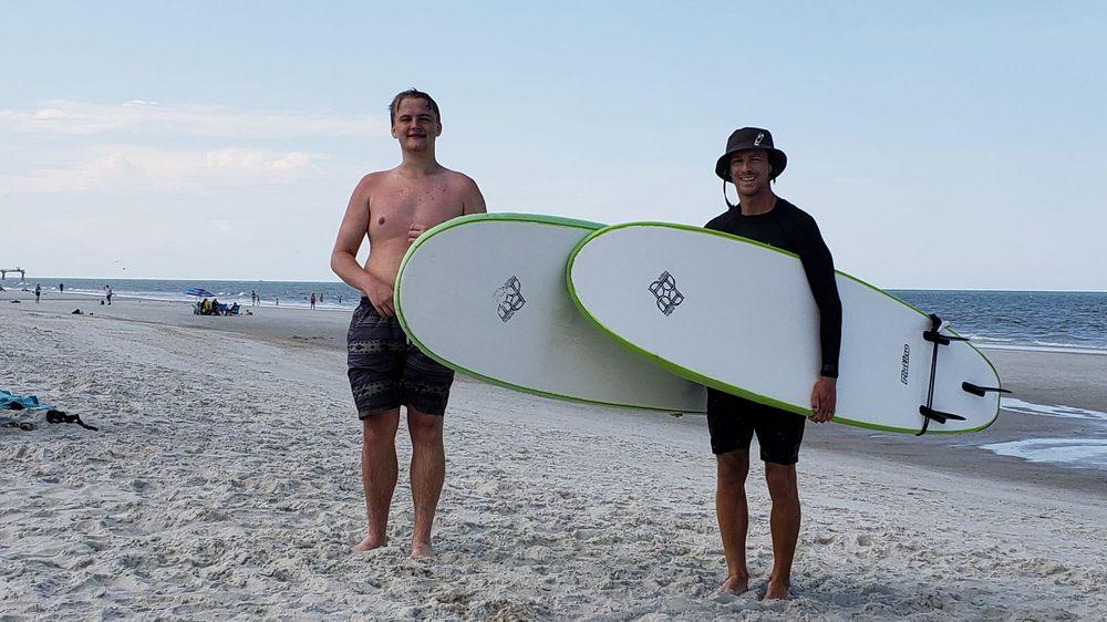Thompson Surf School: 429 1st St S, Jacksonville Beach, FL