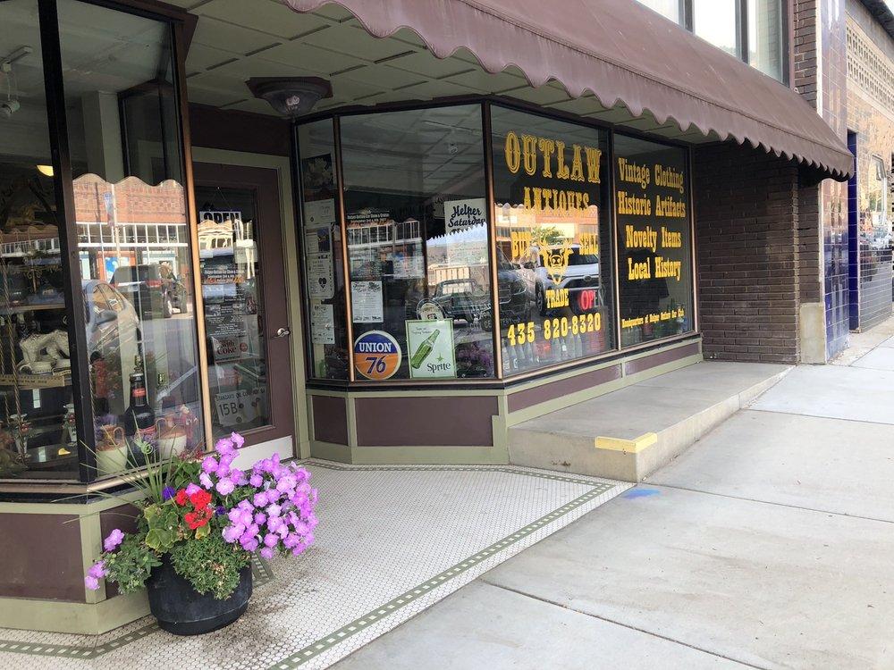 Outlaw Antiques: 176 S Main St, Helper, UT