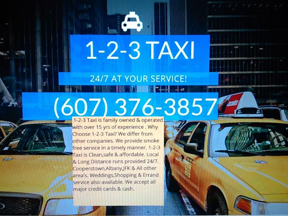 1-2-3 Taxi & Airport Service: Oneonta, NY