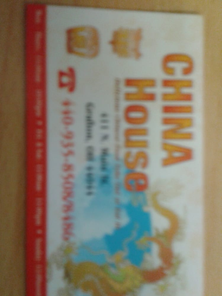 China House: 411 N Main St, Grafton, OH