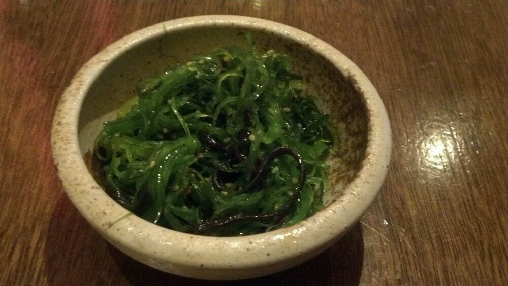 Seaweed salad yelp for Asian cuisine allendale nj