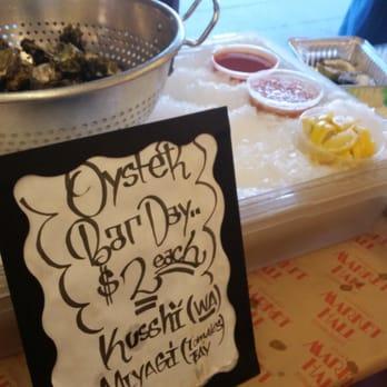 Photo of Hapuku Fish Shop - Oakland, CA, United States. Pop up oyster bar every Saturday! $2ea