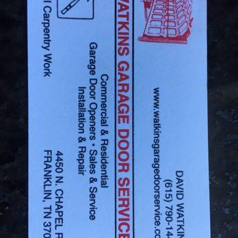 Watkins Garage Door Service 12 Reviews Garage Door Services