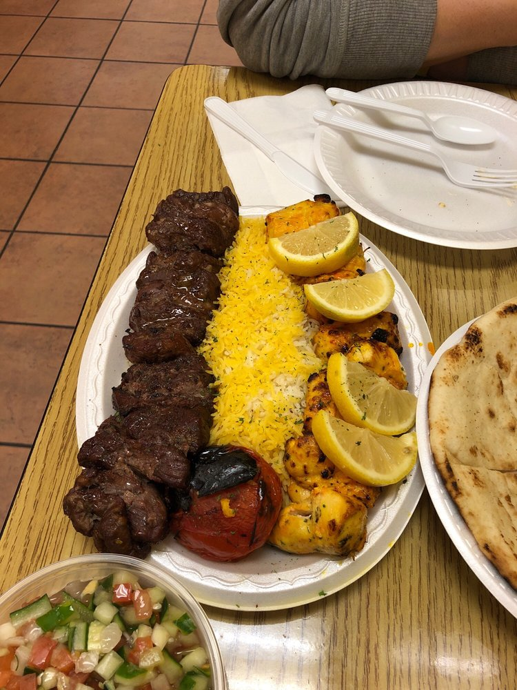 Food from Kabab Cafe