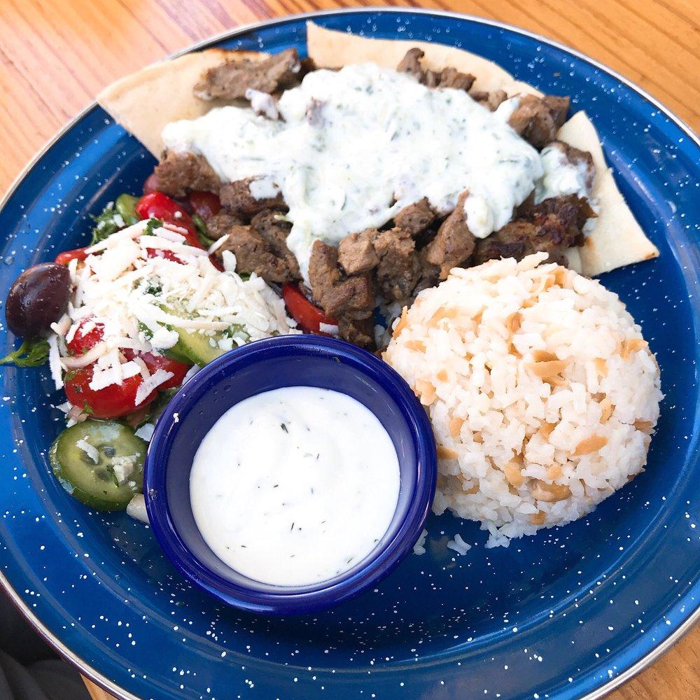 Food from Kali Greek Kitchen