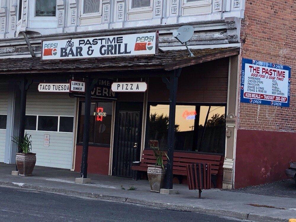 Pastime Bar & Grill: 134 W Walnut St, Genesee, ID