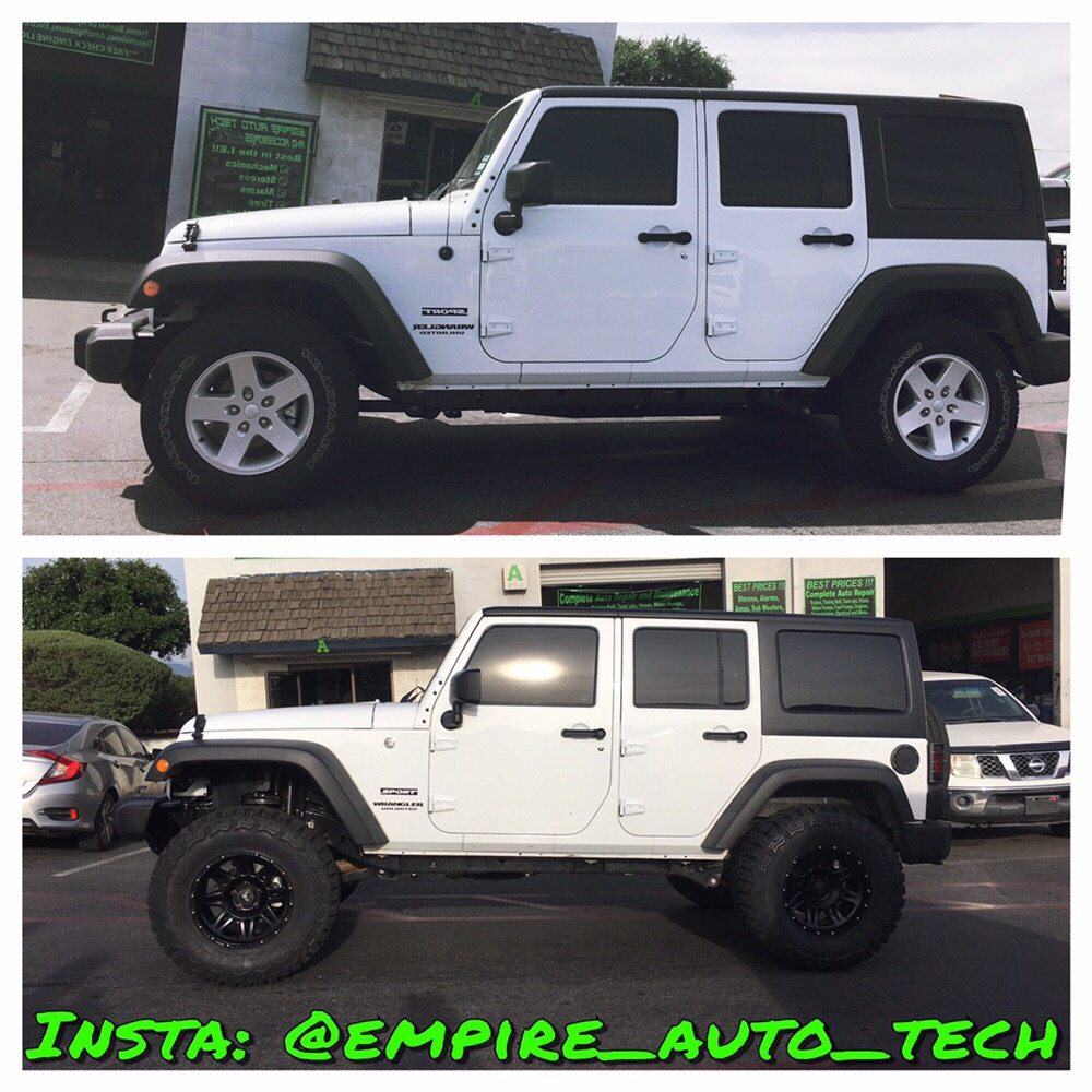 Photo Of Empire Auto Tech   Rialto, CA, United States. 2017 Jeep Wrangler