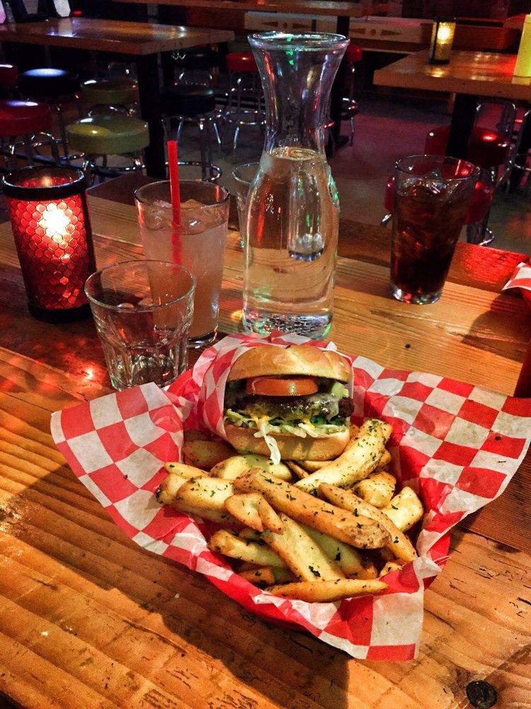 Photo of Sam's Tavern - Redmond, WA, United States. The hazelnut veggie burger with avocado! SO good!