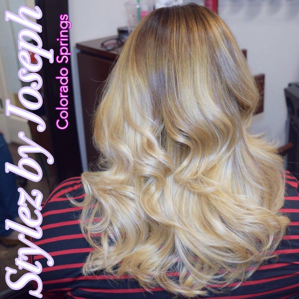 Balayage Ombr Using Lanza Healing Haircolor Yelp