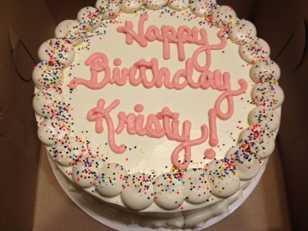 Denver Bakery Birthday Cake