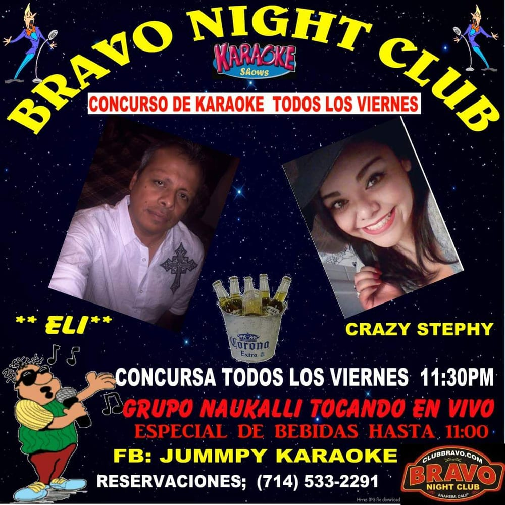 Karaoke Contest Is Hosted By Stephy And Eli Every Friday