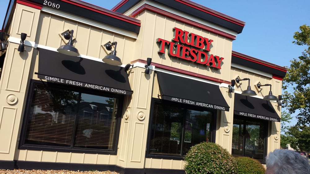 Where Is A Ruby Tuesday Restaurant Near Me