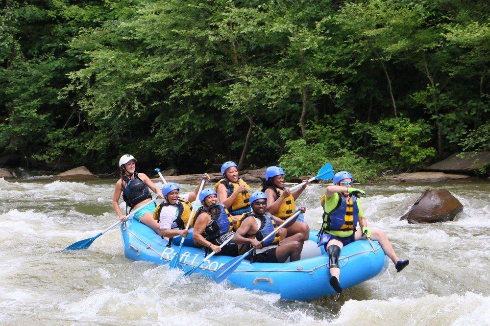 Raft One: 4599 Hwy 64 W, Ducktown, TN