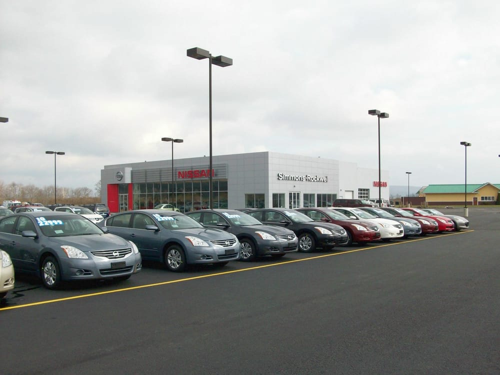 Simmons Rockwell Nissan >> Simmons Rockwell Nissan - Car Dealers - 224 Colonial Dr, Horseheads, NY - Phone Number - Yelp