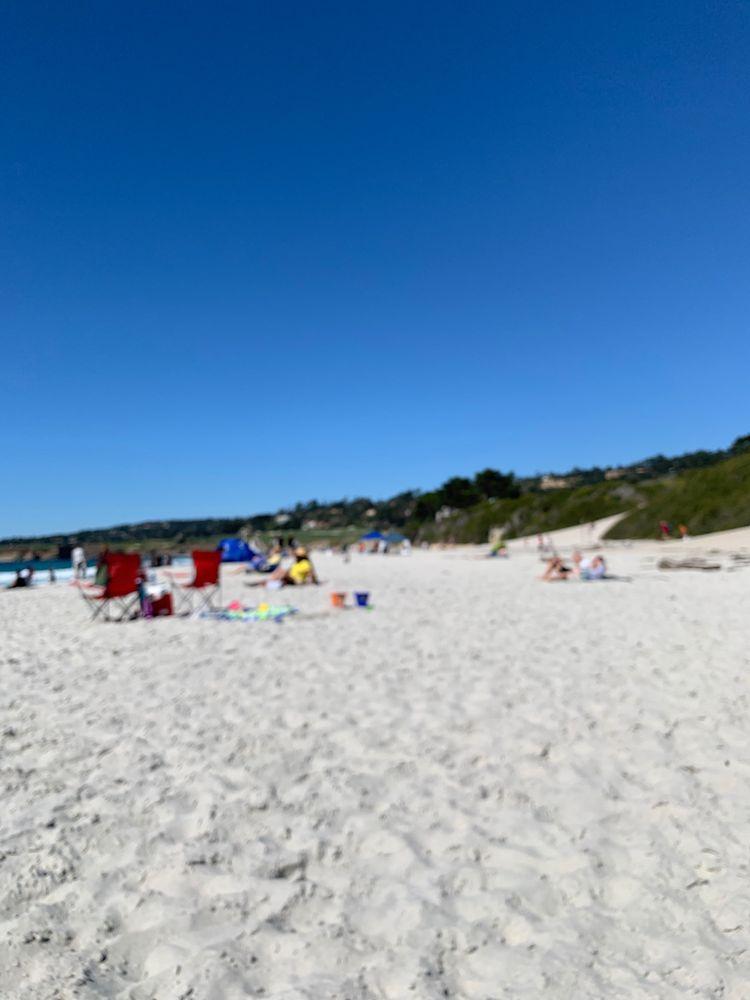 Carmel Beach: Ocean Ave & Scenic Rd, Carmel-by-the-Sea, CA