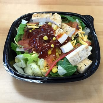 Photo Of Wendy S Grandview Mo United States Bbq Ranch En Salad