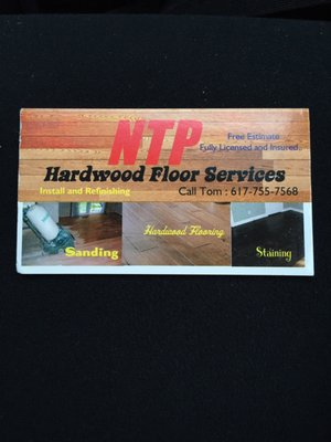 Photo For Ntp Hardwood Floor Service
