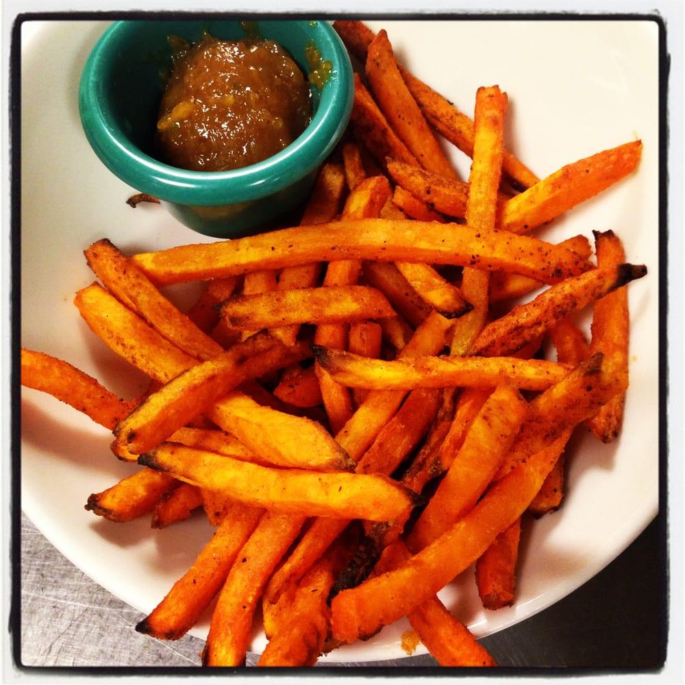 Air-fried Sweet potato fries. - Yelp