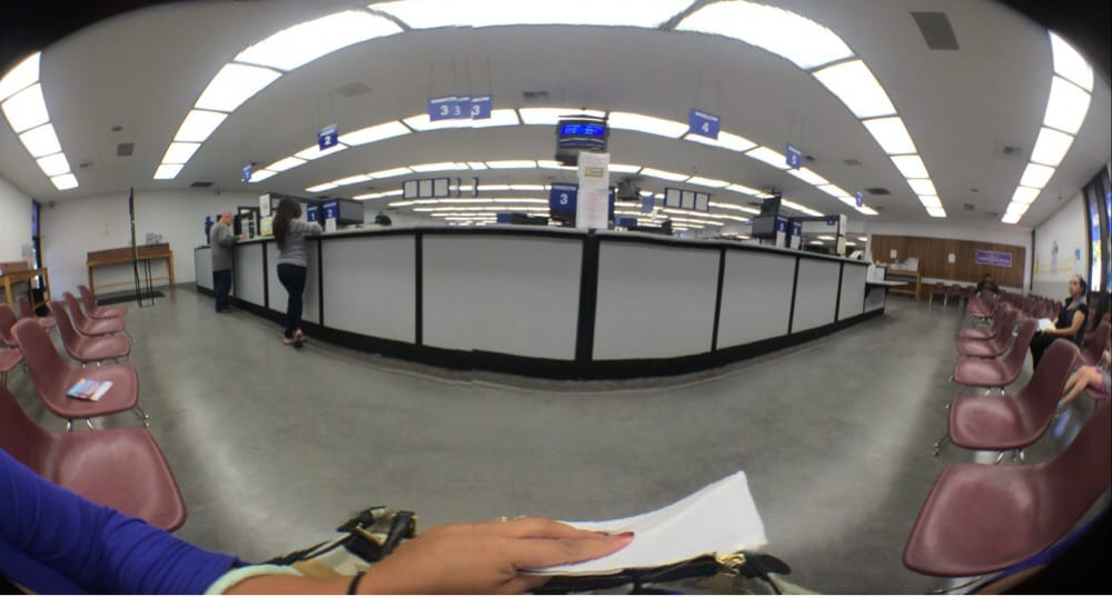 Go to the dmv right before closing the day before a for Department of motor vehicles near my location