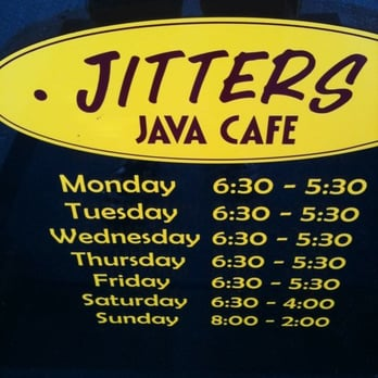 Jitters Cafe Hours