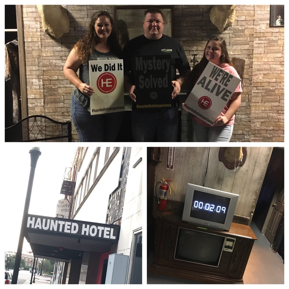 The Haunted Hotel Escape Rooms: 447 Orleans St, Beaumont, TX