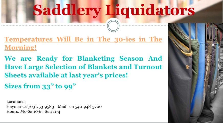 Saddlery Liquidators: 1175 N Main St, Madison, VA